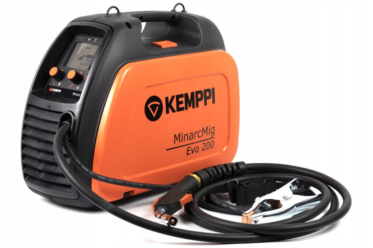 KEMPPI MinarcMig Evo 200 metināšanas iekārta aparāts (pusautomāts)
