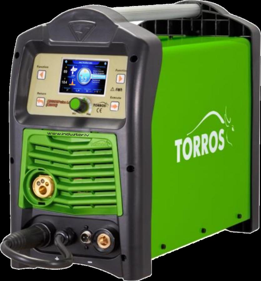TORROS MIG 200 Pulse LCD metināšanas iekārta aparāts (pusautomāts)
