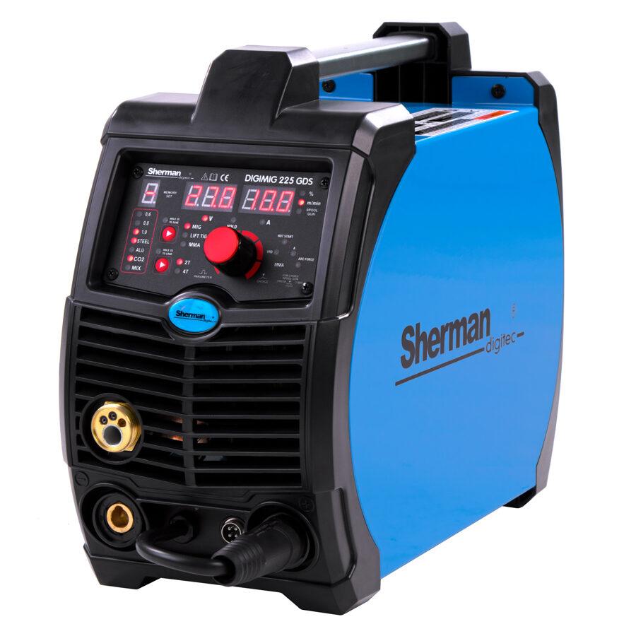Sherman DIGIMIG 225GDS invertora tipa metināšanas iekārta aparāts (pusautomāts)