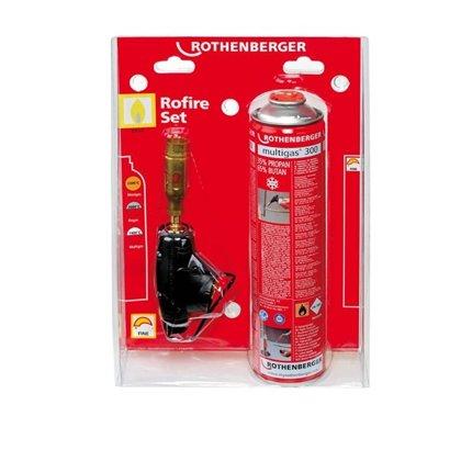 Rothenberger Multigas 300 degļa komplekts bez piezo RO-FIRE