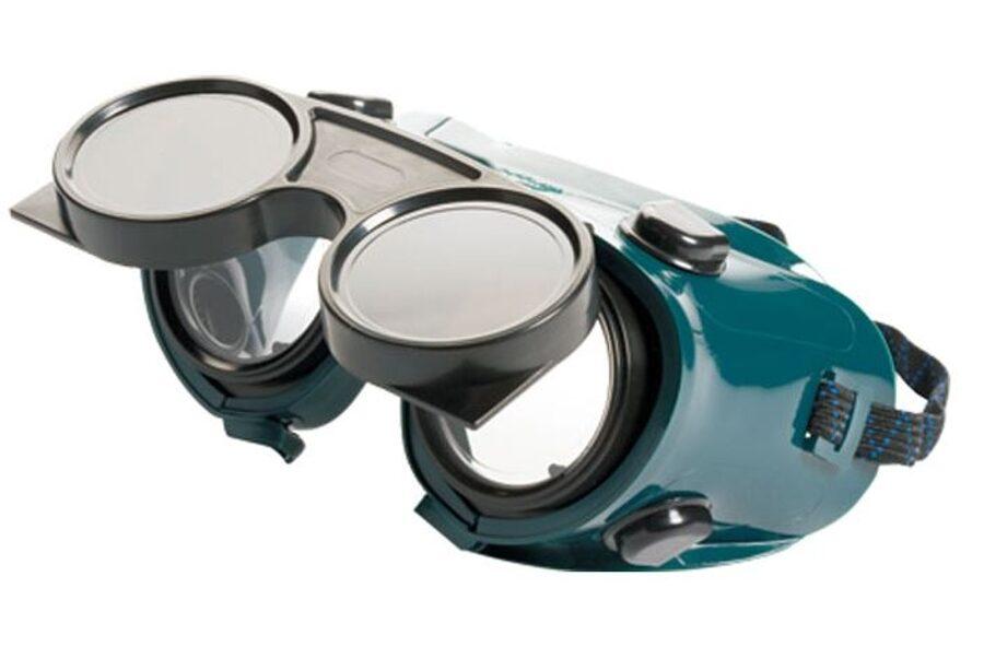 Metinātāja brilles paceļamas EN 5