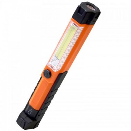 Mini kabatas LED lukturis 1.5W 5V 800mAh USB lādēšana