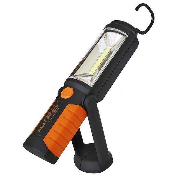 Lukturis ar magnētu 3W + 5LED 3.7VLi