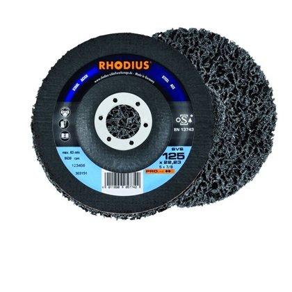 Rhodius neilona tīrīšanas disks  SVS 125x22.23