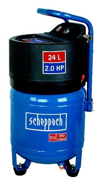 Bezeļļas vertikālais kompresors HC 24V, Scheppach