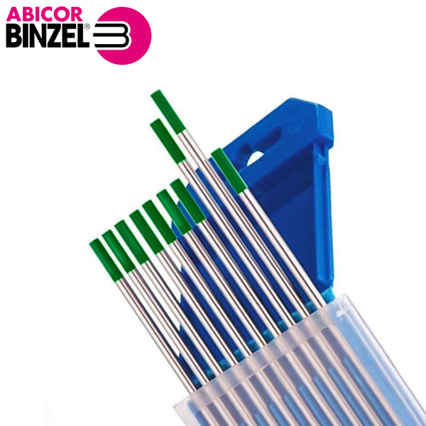 Elektrods volframa WP 1.0-4.0x175 mm zaļš