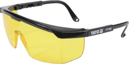 Aizsargbrilles dzeltenas YATO