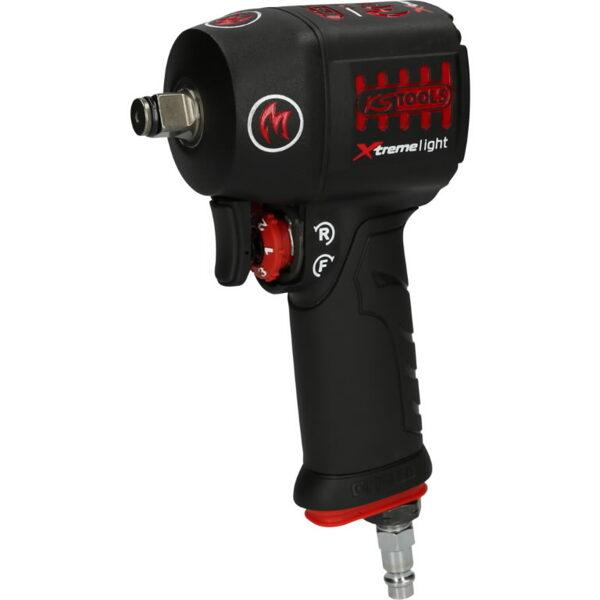 KS Tools pneimatiskā triecienatslēga 1/2´´ MONSTER mini Xtremelight 1390Nm