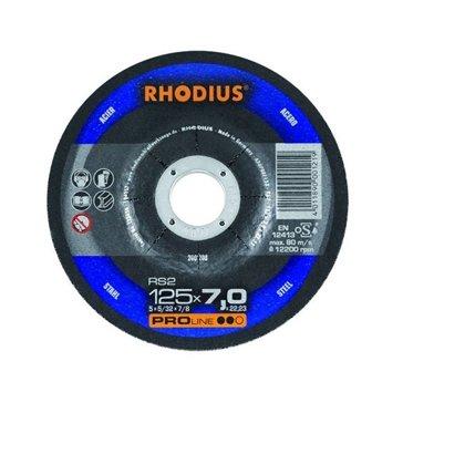 Rhodius rupjās slīpēšanas diski RS2