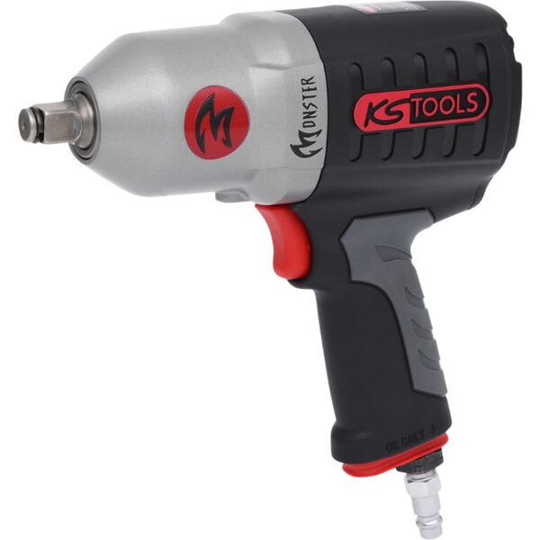 """KS Tools pneimatiskā triecienatslēga 1/2"""" MONSTER 1690 Nm"""