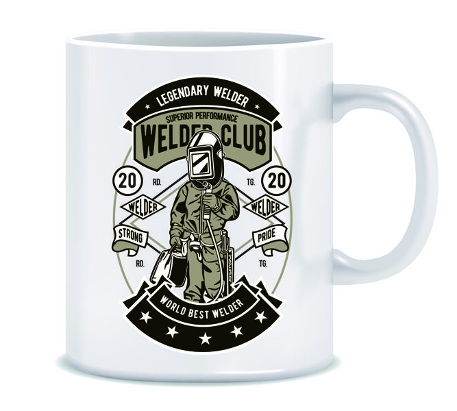 "Krūze ""Welder Club"""