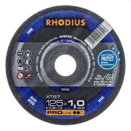 Rhodius plāns griešanas disks XT67 125x1.0x22.23
