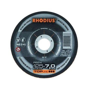 Rupjās slīpēšanas disks RS24 125x7.0x22.23