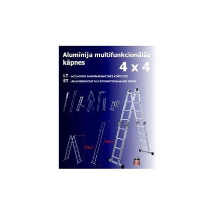 Kāpnes, multifunkcionālas 4 x 4 pakāpieni
