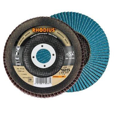 Rhodius ieloču diski LSZ F1 125x22.23