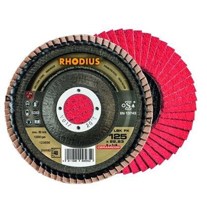 Rhodius ieloču diski LSK FK 125 x 22.23