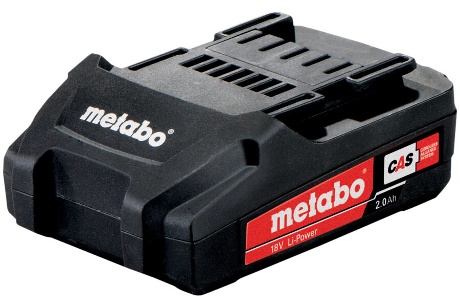 Metabo akumulators 18V / 2,0 Ah, Li Power Compact