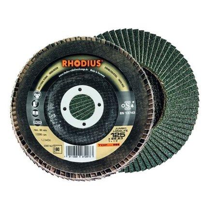 Rhodius ieloču diski Jumbo Longlife 125x22.23