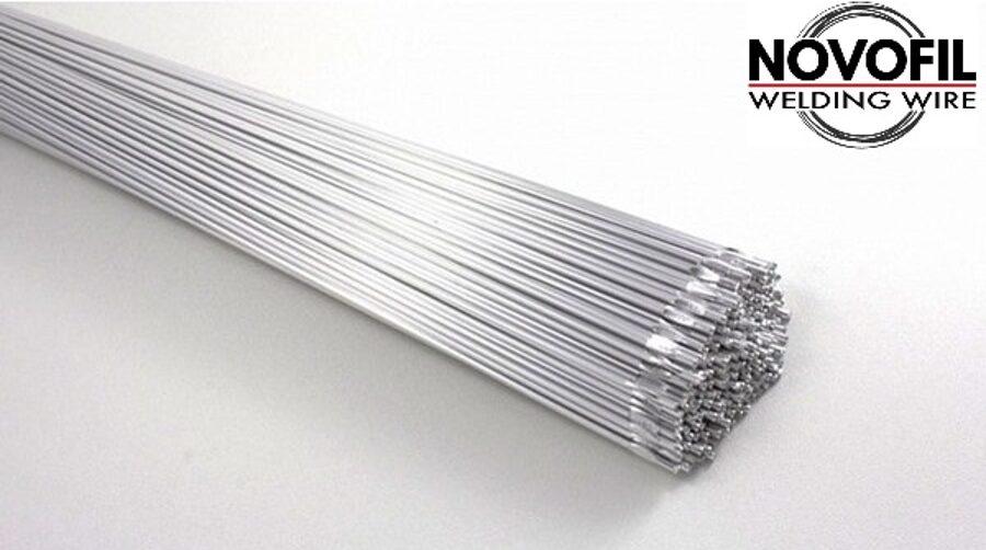Novofil TIG metināšanas stienis Al Mg4.5 1.6-3.2 x 1000mm
