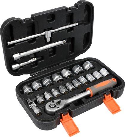 Instrumentu atslēgu komplekts 3/8, 22gab. STHOR 58661