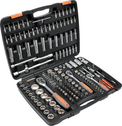 Instrumentu atslēgu komplekts 1/2, 3/8, 1/4 173gab. STHOR 58688