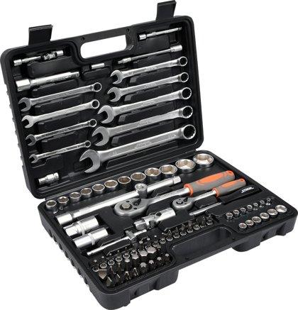 Instrumentu atslēgu komplekts 1/2, 1/4 82gab. STHOR 58689
