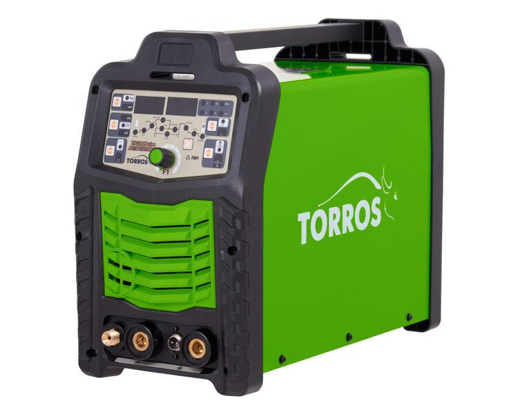 TORROS TIG200 Pulse AC/DC invertora tipa argona metināšanas iekārta aparāts.