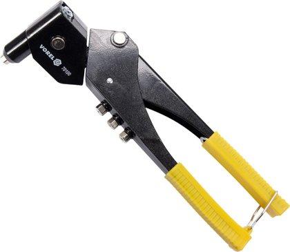 Kniežu pistole kniedētājs ar grozāmo galvu 2,4-4,8mm, 280mm.