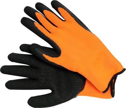 Darba cimdi lateksa oranžas GCLA0510 VOREL