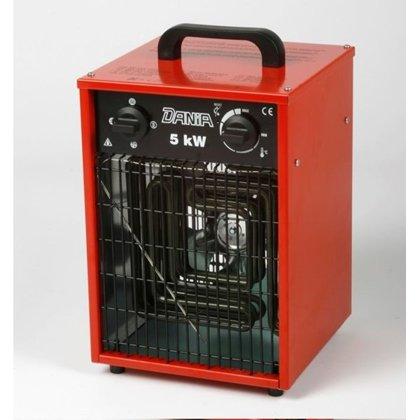 Elektriskais mobīlais Sildītājs DANIA 5kW,400V