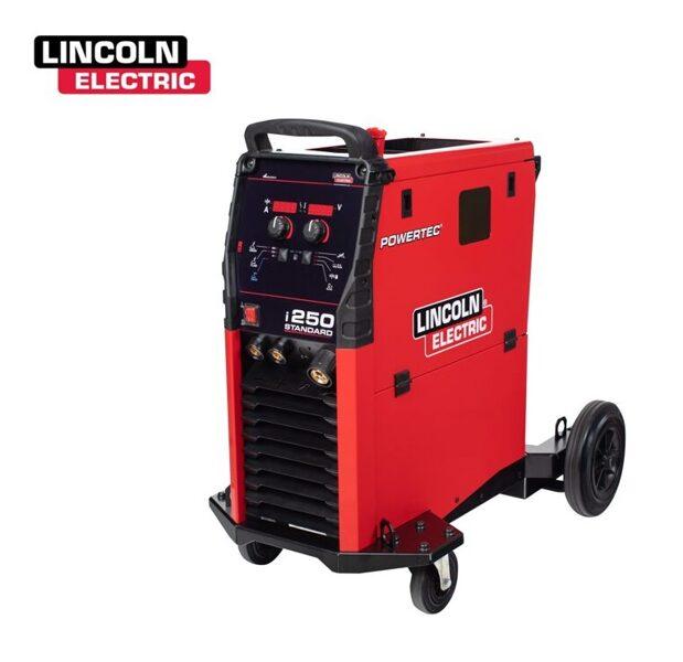 Lincoln Electric Powertec i250C Standard MIG/MAG metināšanas iekārta aparāts (pusautomāts)