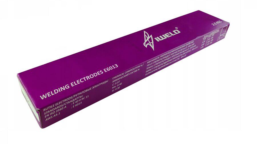Metināšanas elektrodi IWELD E6013 2.5 kg