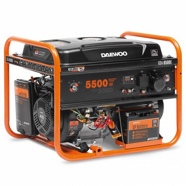 Ģenarators DAEWOO GDA 6500E
