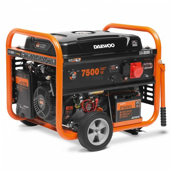 Ģenerators DAEWOO GDA 8500E-3