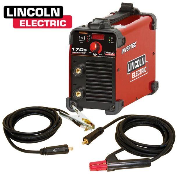 Lincoln Electric Invertec 170S elektrodu metināšanas iekārta