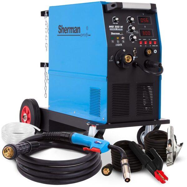 Sherman MIG 300M metināšanas iekārta aparāts (pusautomāts)