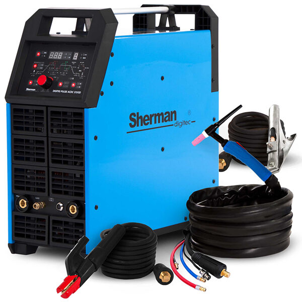Sherman DIGITIG 315 GD AC/DC PULSE invertora tipa argona metināšanas iekārta aparāts