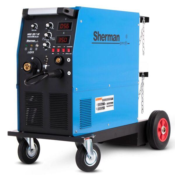Sherman MIG 351M  metināšanas iekārta aparāts (pusautomāts)