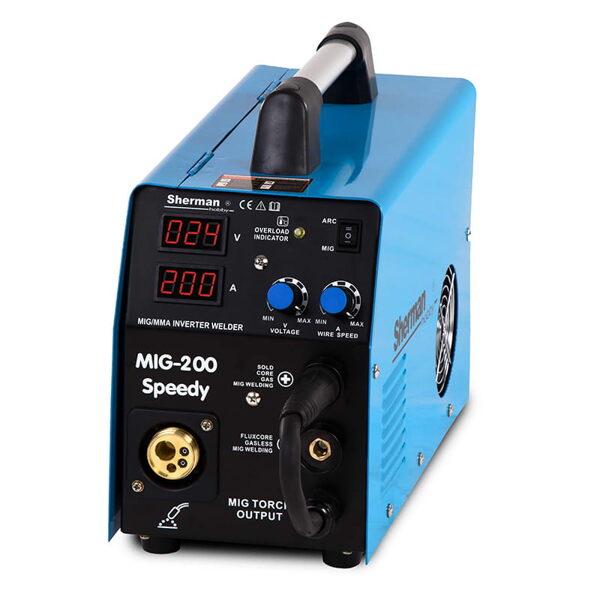 Sherman MIG 200 Speedy metināšanas iekārta aparāts (pusautomāts)