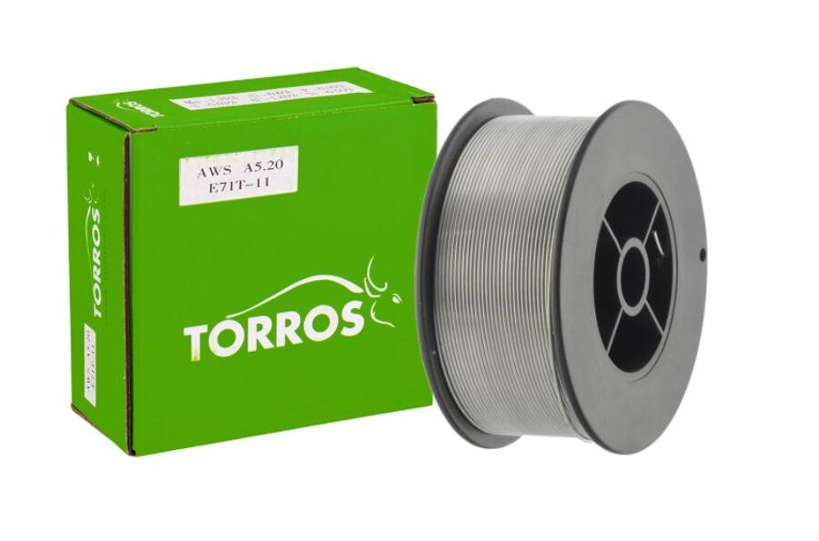 TORROS E71T-11 neleģētā tērauda metināšanas pulverstieple 0.8 mm 5 kg