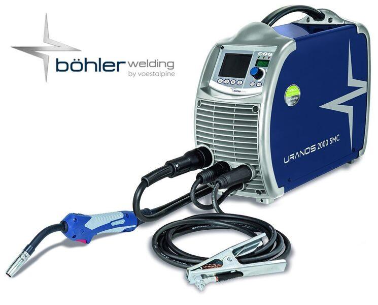 Böhler Welding Uranos 2000 SMC metināšanas iekārta aparāts (pusautomāts)