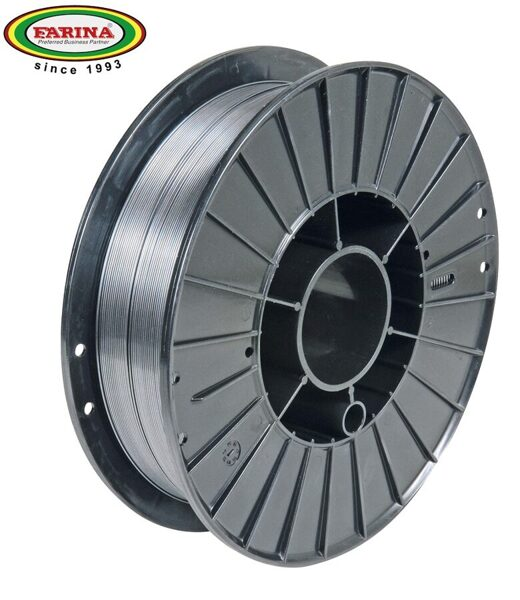 Farina neleģētā tērauda metināšanas pulverstieple 0.8 mm 1 kg