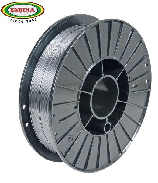 Farina neleģētā tērauda metināšanas pulverstieple 0.8 mm 5 kg