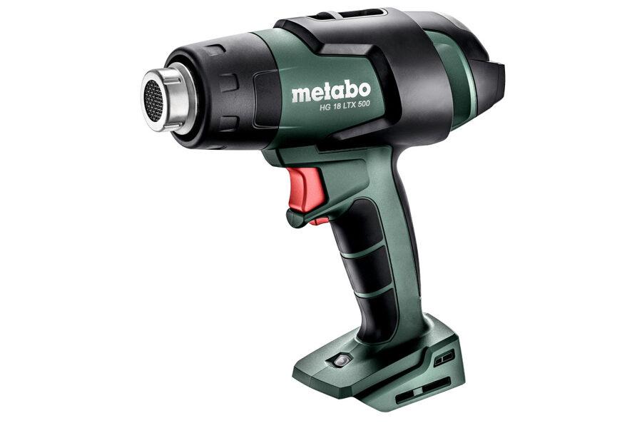 Metabo fēns HG 18 LTX 500 18V, bez akku., MetaBox