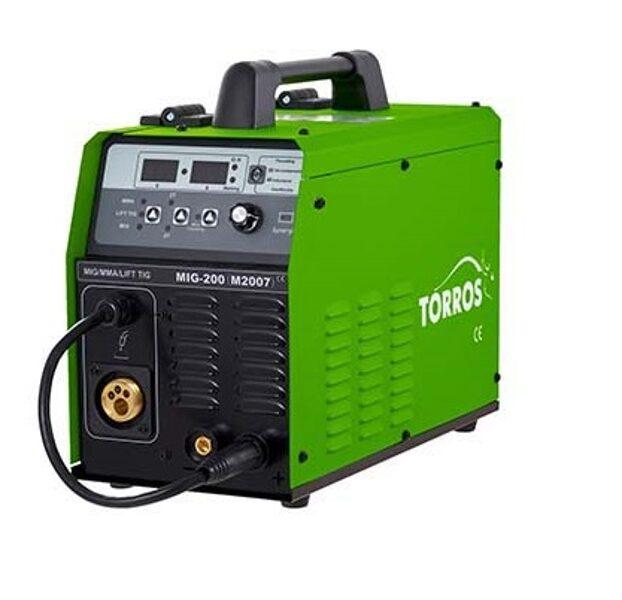 TORROS MIG-200 SUPER metināšanas iekārta aparāts (pusautomāts)