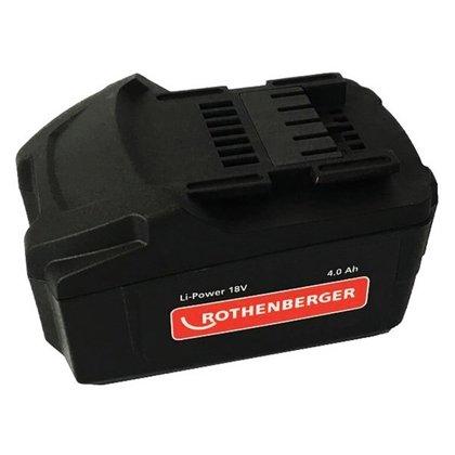 Akumulators Rothenberger 18V 4.0Ah