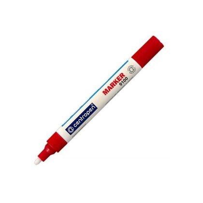 Marķieris 1-4mm apaļš / blisterī, balts