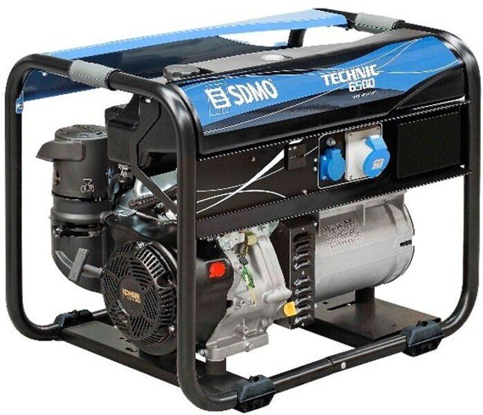 Ģenerators KOHLER-SDMO TECHNIC 6500 E, 6.5kW