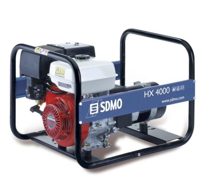 Ģenerators KOHLER-SDMO HX 4000 C, 4kW