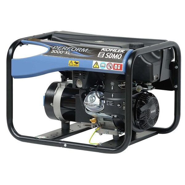 Ģenerators KOHLER-SDMO PERFORM 3000 XL, 3kW